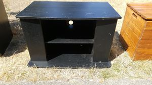 Black entertainment center for Sale in Spanaway, WA