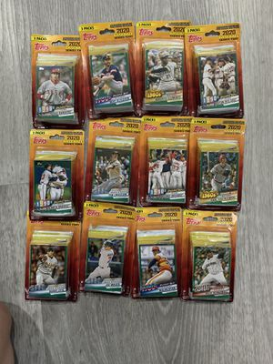 12 2020 Topps Series 2 (3 pack) for Sale in Westminster, CA