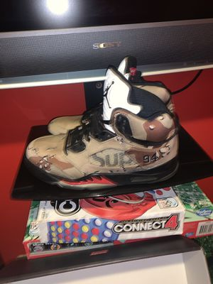 Air Jordan supreme desert camo size 8 for Sale in Brooklyn, NY