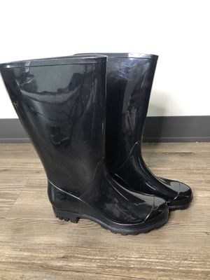 Black Rain Boots for Sale in Pittsburgh, PA