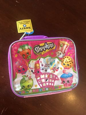 New Shopkins Lunchbox for Sale in East Brunswick, NJ