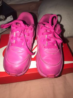 hot pink air max nike toddler for Sale in Westminster, CA