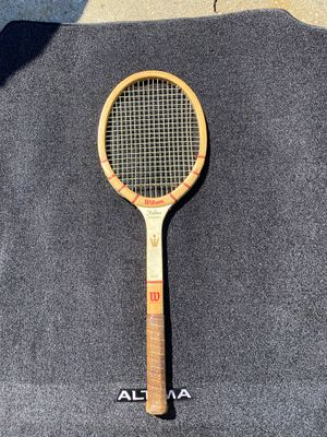 Vintage Wilson tennis racket for Sale in Levittown, NY