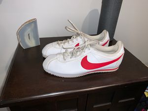 Forrest Gump Nike Cortez size 7y tennis shoes for Sale in Downey, CA