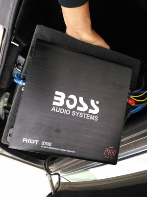 CAR AUDIO SOUND SYSTEM for Sale in Fresno, CA