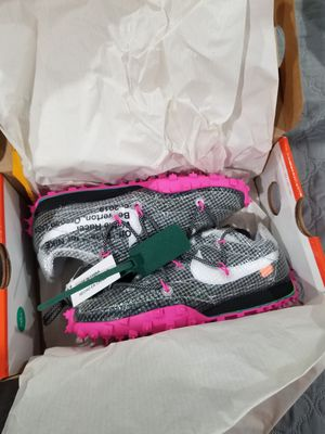 Nike Waffle Racer Off-White for Sale in Norridge, IL