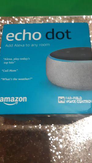 Amazon Echo Dot.3rd Gen. for Sale in Columbus, OH