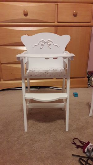 Doll High Chair for Sale in Elburn, IL