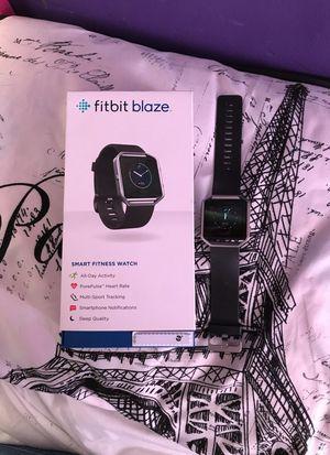 Fitbit blaze -Smart Fitness Watch for Sale in Chelsea, MA