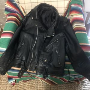 Xl Leather Jacket And Chaps for Sale in Salt Lake City, UT