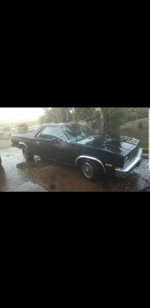 83 Chevy El Camino for Sale in El Cajon, CA