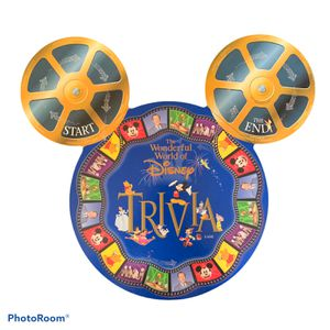 The Wonderful World Of Disney Trivia Game 1997 Mattel Board GameNEVER PLAYED! for Sale in Claremont, CA
