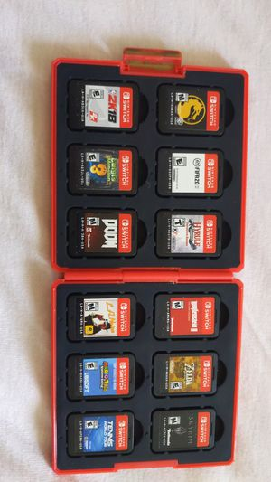 Nintendo switch game lot for sale! W smash! for Sale in West Bloomfield Township, MI