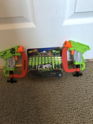 Nerf gun zombie strike for Sale in Tamarac, FL
