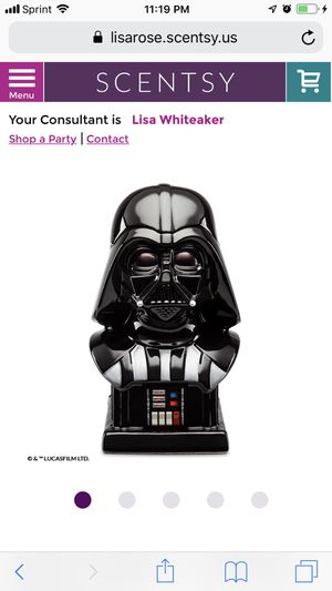 Darth Vader Scentsy Warmer for Sale in Las Vegas, NV
