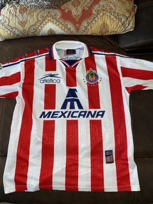Chivas retro jersey in good condition size is large for Sale in Perris, CA