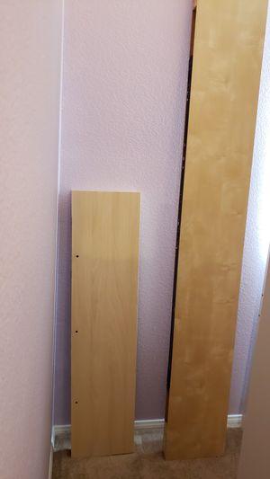 IKEA LACK floating shelves. Birch for Sale in Santa Clarita, CA