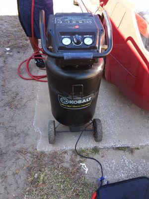 Kobalt air compressor for Sale in Haines City, FL