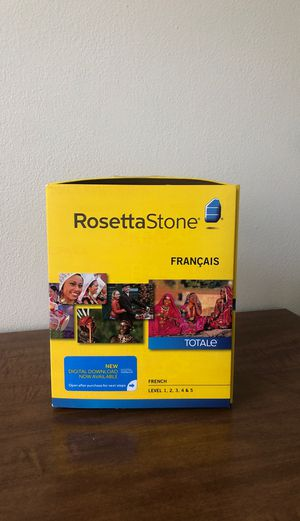 Rosetta Stone — French for Sale in Tacoma, WA