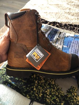 Timberland Pro Steel Toe Boots size 8.5. for Sale in Puyallup, WA