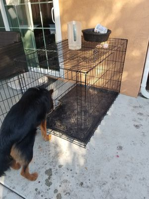Medium to Large Dog Crate for Sale in Hayward, CA