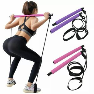 Portable Home Gym Pilates Bar System Full Body Workout Equipment Training Kit for Sale in Los Angeles, CA