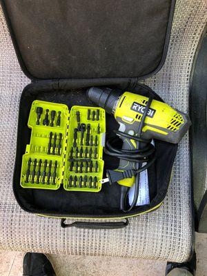 Ryobi drill for Sale in Sacramento, CA