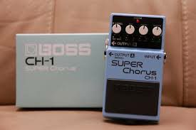 Boss CH-1 Super Chorus pedal like new for Sale in Fresno, CA