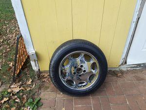 Mercedes 16-inch rim chrome rim original on Pirelli tires for sale for Sale in Charlotte, NC