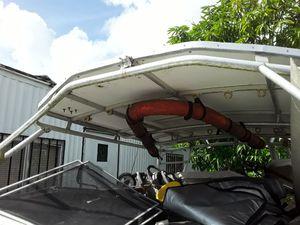 HArdtop for boat aluminum for Sale in Miami, FL