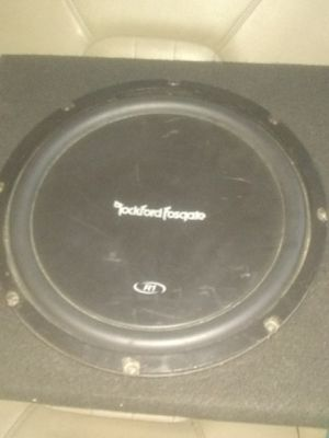 Fosgate R1 10 inch subwoofer and ssl 4f400 amp for Sale in Detroit, MI