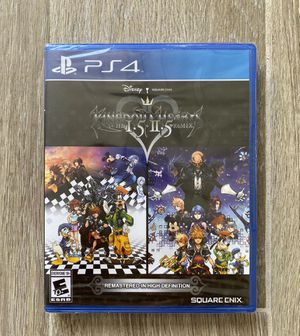PS4 Kingdom Hearts 1.5 + 2.5 + 2.8 HD remastered - sealed for Sale in Garden Grove, CA