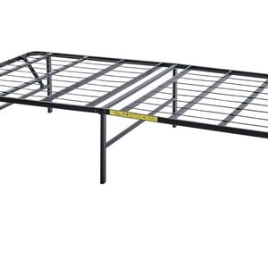 Foldable Twin Black Bedframe for Sale in Placentia, CA