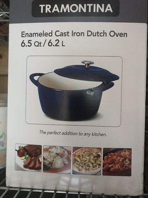 Tramontina cast iron Dutch oven for Sale in McLean, VA