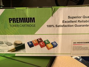 TONER FOR HP PRINTER- (6 in the box- May buy separately) for Sale in Upper Marlboro, MD