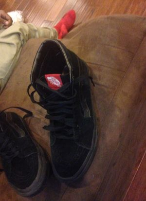 High Top All black vans for Sale in Cleveland, OH