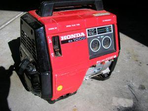 HONDA EX1000 GENERATOR for Sale in Portland, OR
