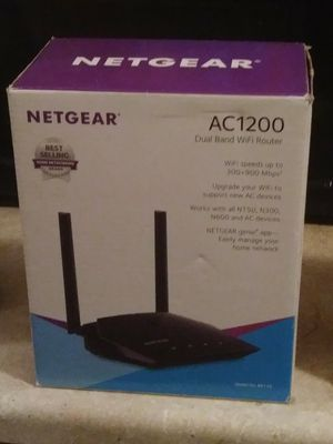 AC1200 Dual Band WiFi Router for Sale in Washington, DC
