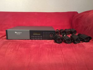 Surveillance cameras with DVR (used) for Sale in Miami Gardens, FL