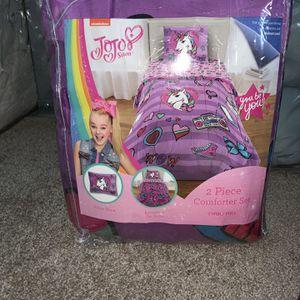 JoJo Siwa Twin/full Reversible Comforter Set for Sale in Columbus, OH