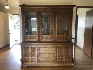 Antique China Hutch/ Cabinet for Sale in Brooks, OR
