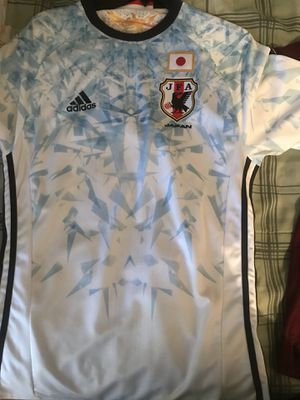Japan football jersey(soccer)adidas for Sale in Orlando, FL