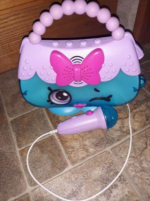 Shopkins karaoke purse for Sale in Puyallup, WA