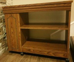 "Storage cabinet entertainment center wheels 28""L x 24""H x 15""D for Sale in Lecanto, FL"