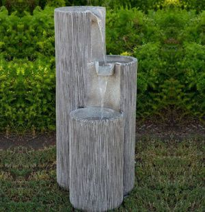 Modern style fountain with lights for Sale in Bell, CA