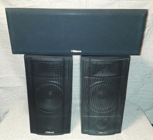 Klipsch KSB 2.1 Bookshelf/ Surround Speakers & Center KV2 85 Watts 8 Ohms for Sale in Olivette, MO