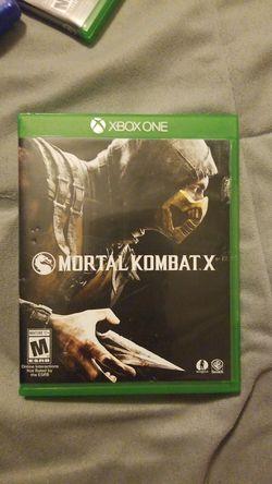Mortal kombat x for Sale in San Angelo,  TX