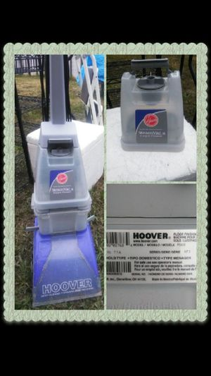 Hoover Shampooer Replacement Water /Solution Reservoir Container Top Part Hoover Model# F5808 for Sale in Humble, TX