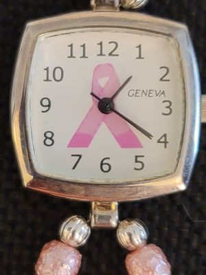 Watch, pink ribbon, breast cancer awareness for Sale in Mission Viejo, CA