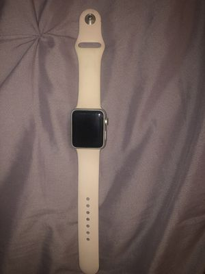 Apple Watch series 1 with both pink and white band and charger for Sale in Kissimmee, FL